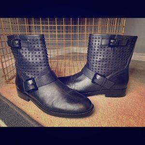 Michael Kors studded black booties